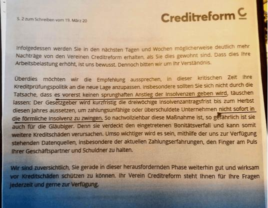 Kreditzurückhaltung